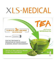 XLS Medical Tea with Premium Matcha Green Tea 30 Sachets