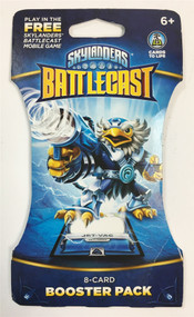 Skylanders Battlecast 8 Card Booster Pack Jet Vac Cards To Life