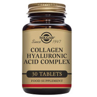 Solgar Collagen Hyaluronic Acid Complex 30 Tablets