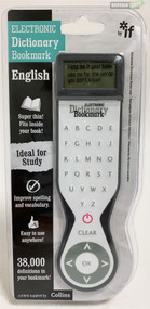 IF Electronic Dictionary Bookmark 45202 Grey