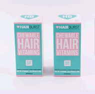 Hairburst Chewable Hair Vitamins Two Month Supply 120 Gummies (2 x 60)