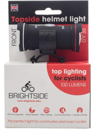 Brightside Topside Front & Rear Bike Helmet Light Rechargeable