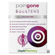 Paingone BackTENS Disposable TENS for Back, Waist, Shoulders, Arms and Joints