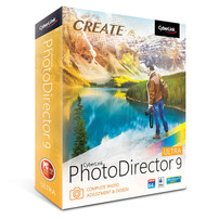 Cyberlink Photo Director 9 Ultra - Complete Photo Adjustment & Design (PC/Mac)