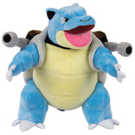 Tomy Pokemon T19362 Blastoise Soft Plush - Blue Brown - Large Size Cuddly Toy