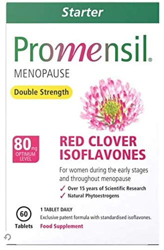 Promensil Menopause Starter Double Strength Red Clover Isoflavones - 80mg 60 Tablets