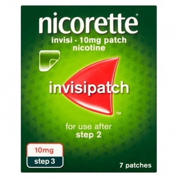 Nicorette InvisiPatch, Step 3, 7 Nicotine Patches (Stop Smoking Aid)