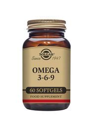 Solgar Omega 3-6-9 Softgel Capsules - Pack of 60