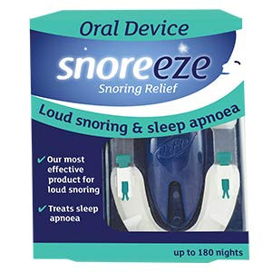 SnoreEze Snoring Relief Oral Device 180 Nights