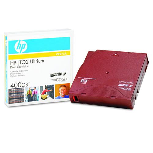 HP Original C7972A LTO2 Data Cartridge Ultrium 400GB