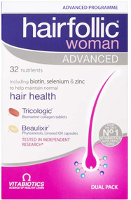 Vitabiotics Hairfollic Her Advanced Capsules, 60-Count