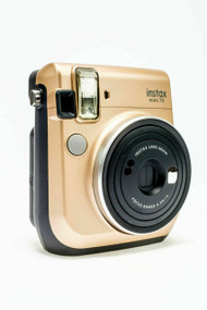 Fujifilm Instax Mini 70 Stardust Gold Camera Plus 10 Instant Film Shots