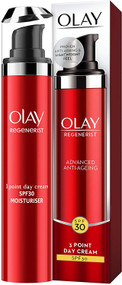 Olay Regenerist 3 Point Firming Anti-Ageing Day SPF30 Lightweight Moisturiser 50 ml