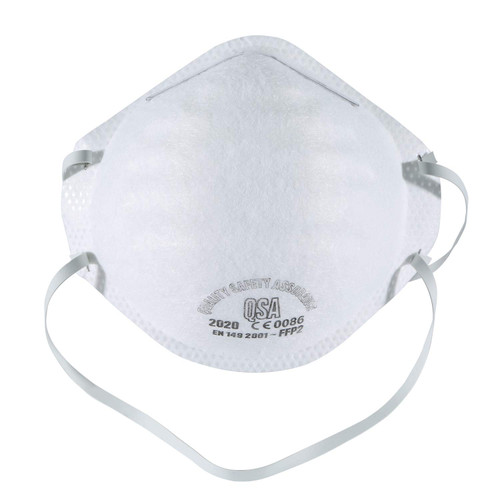 N95 face mask - front view