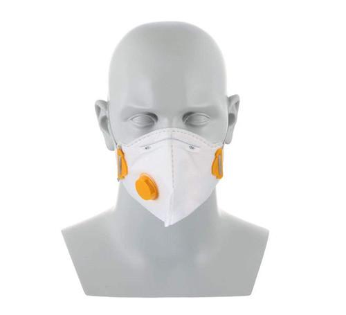 N95 face mask worn