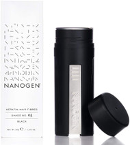 Nanogen Keratin Thickening Hair Fibres, 30 g, Black