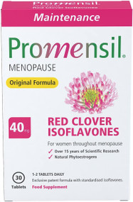 Promensil Menopause | Original Maintenance | Red Clover | Isoflavones | 40mg | 30 Tablets