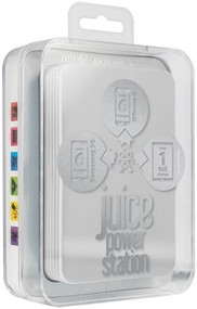 Juice Power Station - 11200mAh capacity power bank - White