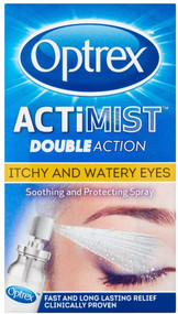 Optrex ActiMist 2 in 1 Eye Spray for Itchy and Watery Eyes 10ml
