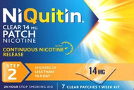 NiQuitin 14mg Clear 24 Hour Step 2 7 Patches