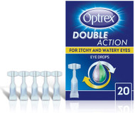 Optrex Double Action for Itchy and Watery Eyes - 20 Single Use Vials