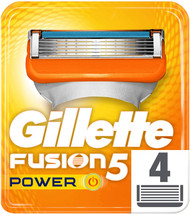 Gillette Fusion5 Power Razor Replacement Blades 4 Pack