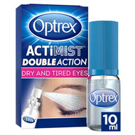 Optrex ActiMist 2-in-1 Dry Plus Irritated Eye Spray 2 x 10 ml
