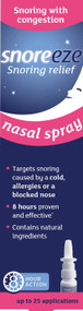 Snoreeze Nasal Spray - Snoring with Congestion 10ml