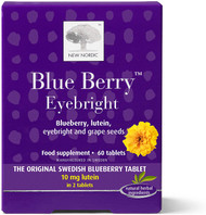 New Nordic Blue Berry Eyebright 60 Tablets