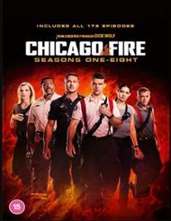 Chicago Fire Season 1-8 [DVD] [2020]