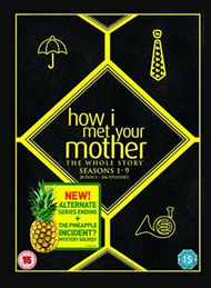 How I Met Your Mother: The Whole Story Season 1-9 DVD Box Set