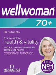 Vitabiotics Wellwoman 70+ 30 Tablets