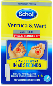 Scholl Freeze Remover Verruca and Wart Treatment Kit