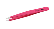Tweezerman Stainless Steel Slant Tweezer, Pink