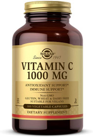 Solgar Vitamin C Vegetable Capsules 1000mg Pack of 100