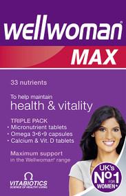 Vitabiotics Wellwoman Max Maximum Support 84 Tablets/Capsules
