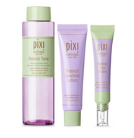 Pixi Retinol Tonic, Retinol Jasmine Lotion & Retinol Eye Cream Bundle