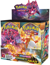 Pokemon sword shield darkness ablaze booster box