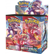 Pokemon Booster Box (36 packs) - Sword and Shield Battle Styles