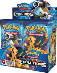POKEMON XY EVOLUTIONS - FACTORY SEALED BOOSTER BOX 36 PACKS