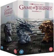 Game of Thrones Seasons 1-7 DVD Box Set (2017)