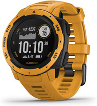 Garmin Instinct Rugged GPS Sport Watch - Sunburst Yellow