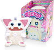 Rizmo Your Evolving Musical Friend - Cute Interactive Electronic Plush Pet for Children Age 6+ - Snow