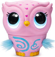 Owleez Flying Baby Owl Interactive Pet Toy - Pink