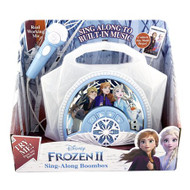 Disney Frozen 2 Sing-Along Light-Up Boombox with Microphone