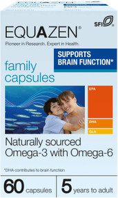 Equazen Family Supports Brain Function Capsules 60
