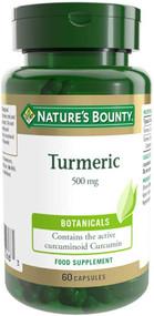 Nature's Bounty Turmeric 500mg 60 Capsules