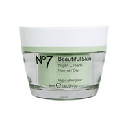No7 Beautiful Skin Night Cream for Normal/Oily Skin 50ml