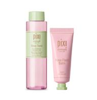 Pixi Rose Tonic and Flash Balm Set