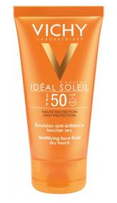 Vichy Ideal Soleil Mattifying Face Dry Touch Sun Cream SPF50+ 50ml